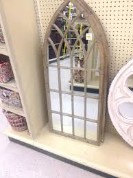 Ideas Design For Arched Window Mirror Cathedral Mirror Mirror Design