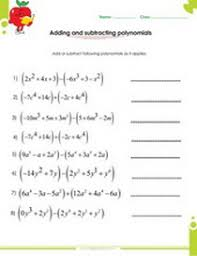 Factoring Expressions Worksheet Factoring Polynomials Worksheets With Answers And Operations