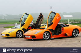 lamborghini gallardo doors front quarter view of lamborghini murcielago and gallardo together