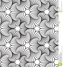 Designs Black And White Op Art Design Vector Seamless Pattern Background