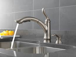 Kitchen Sink Faucet With Pull Out Spray by Linden Kitchen Collection