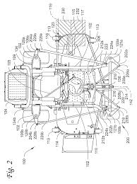 patent us8528685 all wheel steering system and vehicle