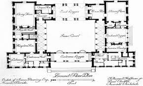 hacienda style homes floor plans mexican hacienda floor plans enclosed courtyard house plan best of