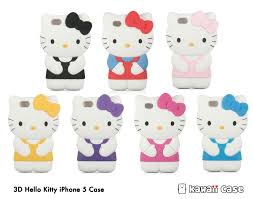 3d Kitty Iphone 5 Case Kawaii Case
