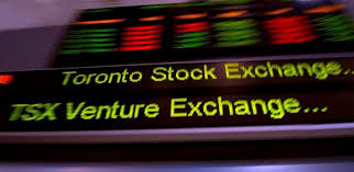 toronto stock market near flat and loonie up with u s markets