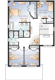 Simple  Bedroom House Plans That Are Printable Home Plan - Four bedroom house design