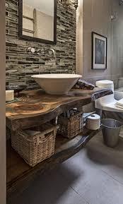 inspiring rustic bathroom ideas winning vessel sink for diy vanity