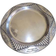 pewter platter large wilton pewter platter tray zia collection from