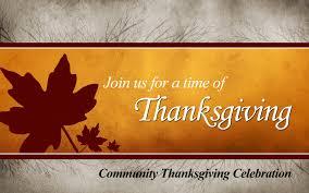 thanksgiving sermon ideas thanksgiving community service
