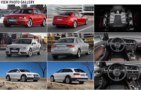 audi a6 2013 vs 2014 spin refreshed 2013 audi a4 s4 driven car and driver