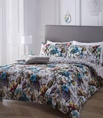 pieridae paradise 100 cotton percale digital print duvet cover