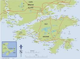 Nova Scotia Canada Map by Impressum