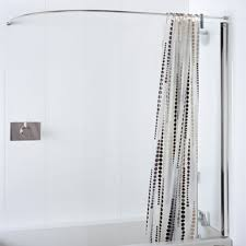 Height Of Curtains Inspiration Shower Oval Shower Curtain Rod Photo And The Height Of Excellent