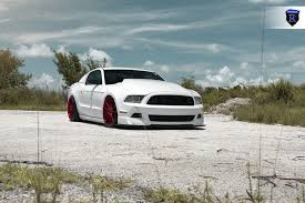 ford mustang modified insane modified ford mustang gt 500 with red custom wheels u2014 carid