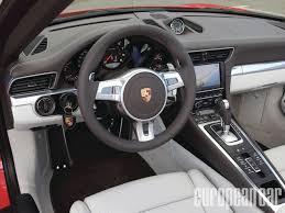 porsche 911 interior 2012 porsche 911 carrera cabriolet european car magazine