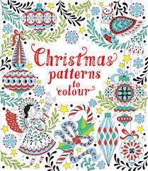 christmas patterns colour u201d usborne children u0027s books