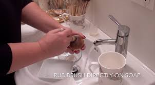 What To Wash Colors On - easy way to clean your makeup brushes u2014 glossible