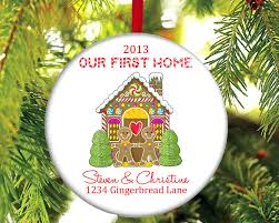first home christmas ornament invitation template