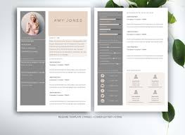 resume design 22 4page resume template cv pack cover by