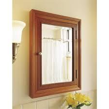 Recessed Medicine Cabinet Wood Door Recessed Wood Medicine Cabinet Ingenious Inspiration Design
