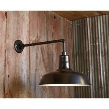 outdoor light back plate use the rigid mount back plate with the gooseneck arm for a stylish