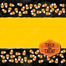 halloween candy white yellow orange sweets double horizontal