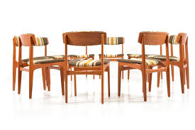 mid century danish dining chairs by thorsø møbelfabrik set of 10