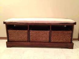entryway bench with storage plans white entryway storage bench