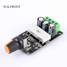 fan motor speed control switch walfront pwm dc 6 28v 3a motor speed controller regulator adjustable