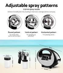 professional spray tan machine tent sunless tanning gun kit hvlp