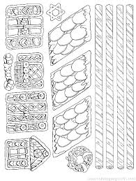 printable gingerbread house colouring page gingerbread house color page house coloring pages printable free