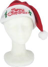 santa hats merry christmas light up santa hat light up merry christmas santa