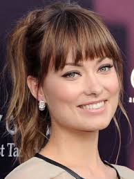 high forehead side bangs fine hair the best and worst bangs for square face shapes beautyeditor