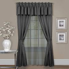 achim claire 6 piece curtain set walmart com
