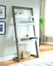 Easy Crate Leaning Shelf And by Leaning Desk With Shelves Sawyer Mocha Leaning Desk With Two