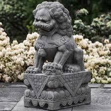 foo dogs statues cania international inc foo dog statue wayfair