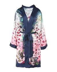 dressing gown j shipley x disney beauty and the beast silk silk robe
