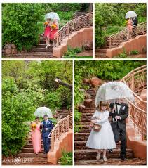 colorado rainy spring wedding day red rocks trading post