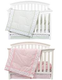 Nursery Bedding Sets Boy by Matching Pink And Sea Foam Boy Nursery Bedding Sets For Twins