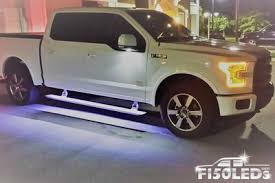 2017 18 f150 raptor led running board area premium lights