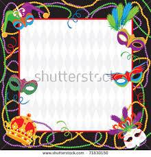 mardi gras frame mardi gras stock images royalty free images vectors