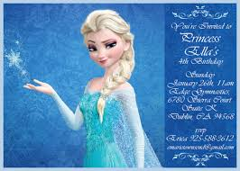 frozen birthday invitations walmart new invitations pinterest