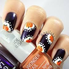 Halloween Nail Art Pumpkin - 164 best autumn trends images on pinterest pearl nail art nail