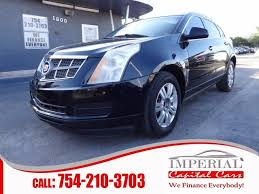 2011 cadillac srx for sale 2011 cadillac srx luxury collection in miramar fl imperial