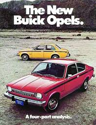 1973 buick opel gm has never known what the hell to do with opel