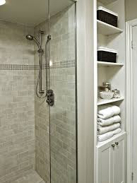 Shower Room Grey Shower Areas Wall With Steel Faucet And White Sink On Top