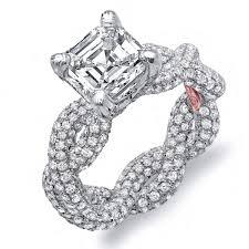 asscher cut diamond engagement rings asscher cut engagement rings demarco bridal jewelry official blog