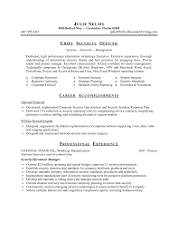 Sample Senior Management Resume Sample Access Management Resume Security Supervisor Resume Sample