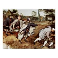 Pieter Bruegel Blind Leading The Blind Pieter Bruegel The Elder Posters Zazzle