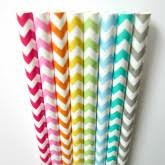 paper straws paper straws striped straws chevron straws polka dots straws